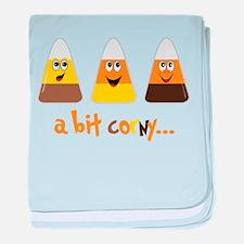 A Bit Corny baby blanket