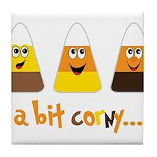 A Bit Corny Tile Coaster