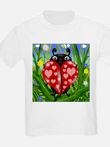 Love Bug Lady Bug T-Shirt