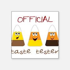 "Taste Tester Square Sticker 3"" x 3"""