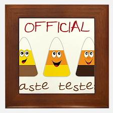 Taste Tester Framed Tile