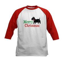 Christmas Scottish Terrier Tee