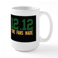 Green and Gold and Black Large Mug