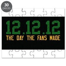 Green and Gold and Black Puzzle