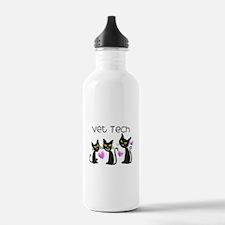 Funny Vet technician Water Bottle