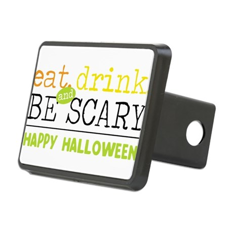 Happy Halloween Rectangular Hitch Cover