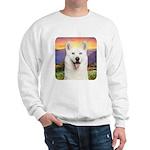 White Husky Meadow Sweatshirt