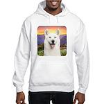 White Husky Meadow Hooded Sweatshirt
