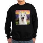 White Husky Meadow Sweatshirt (dark)