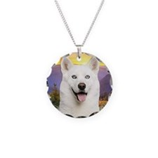 White Husky Meadow Necklace