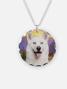 White Husky Meadow Necklace