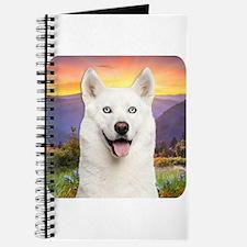 White Husky Meadow Journal