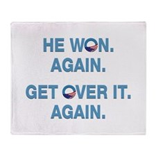 Obama Won. Get Over It. Throw Blanket