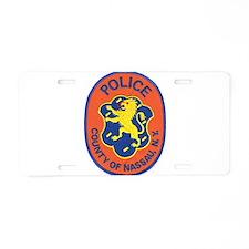 Cute New york police Aluminum License Plate