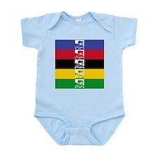 world champ stripes Infant Bodysuit