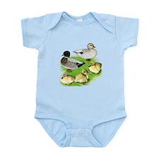 Snowy Call Duck Family Infant Bodysuit