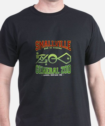 Smallville tshirts Black T-Shirt