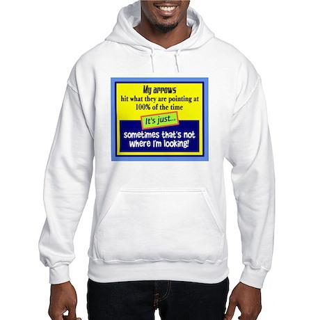 My Arrows Hit/t-shirt Hooded Sweatshirt