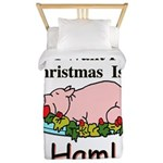 Christmas Ham Twin Duvet