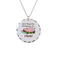 Christmas Ham Necklace