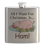 Christmas Ham Flask