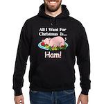 Christmas Ham Hoodie (dark)