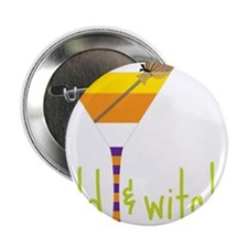 """Wild And Witchy 2.25"""" Button"""
