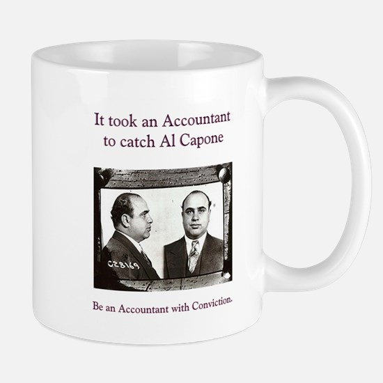accountant capone Mugs