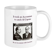 accountant capone Mugs