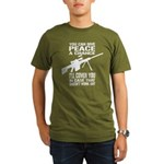 You Can Give PEACE a Chance... Organic Men's T-Shi