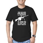 You Can Give PEACE a Chance... Men's Fitted T-Shir
