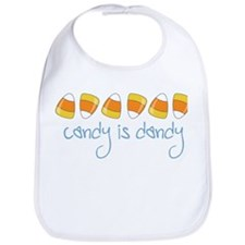 Candy Is Dandy Bib
