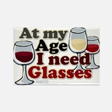 I Need Glasses Rectangle Magnet