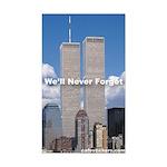 World Trade Center We'll Never forget Sticker