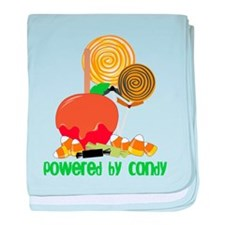 Powered By Candy baby blanket