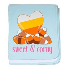 Sweet And Corny baby blanket