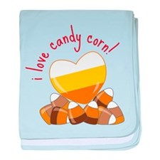 Love Candy Corn baby blanket