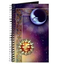 Sun & Moon Faces Journal
