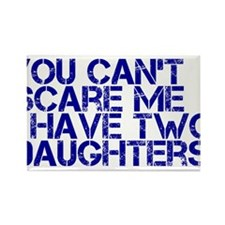 2 daughters ci Rectangle Magnet