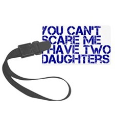 2 daughters ci Luggage Tag