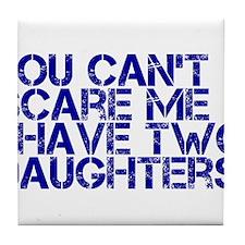 2 daughters ci Tile Coaster