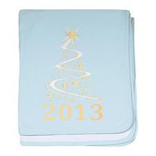 Happy new year 2013 baby blanket