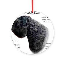 Black Russian Ornament (Round)