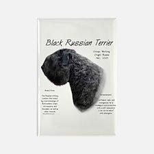 Black Russian Terrier Rectangle Magnet