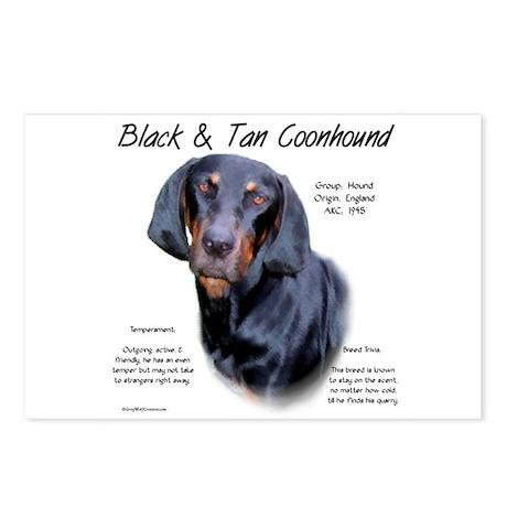 Black & Tan Postcards (Package of 8)