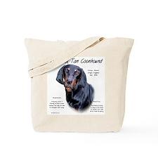 Black & Tan Tote Bag