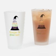 The Ghoul Times Drinking Glass