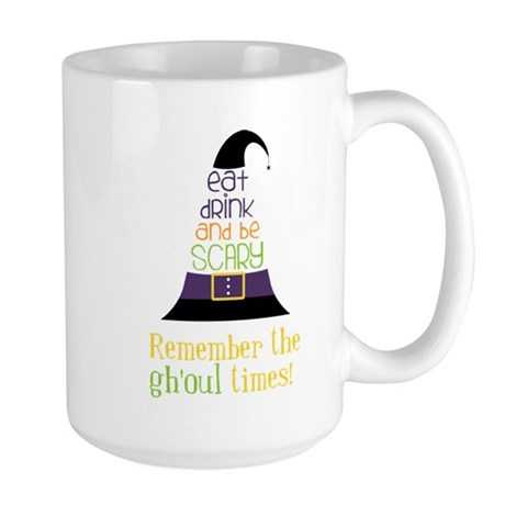The Ghoul Times Large Mug