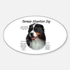 Berner Oval Decal