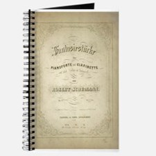 Schuman Vintage Sheet Music Journal